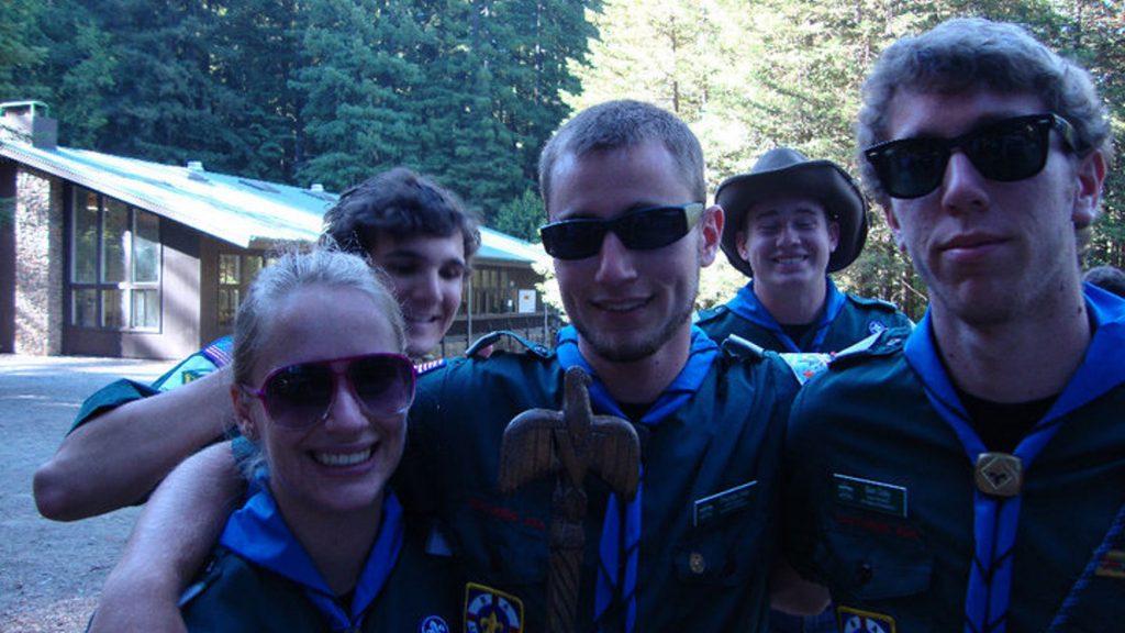 Ben on Camp Staff