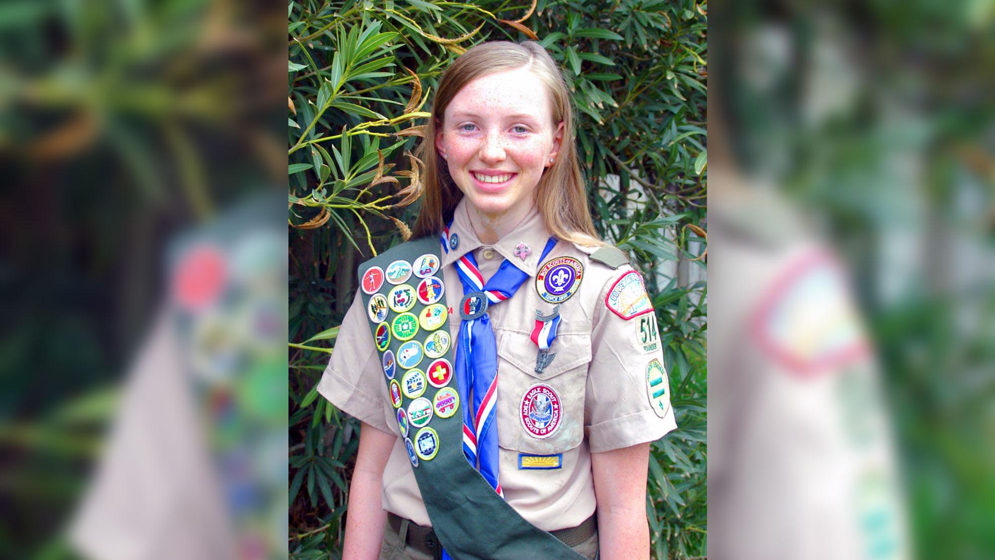 Eagle Scout Kathryn Block