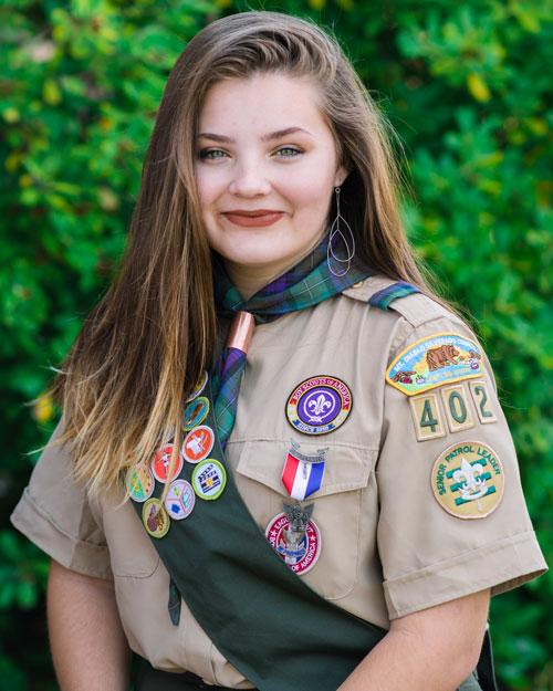 Alexia Tzortzis Eagle Scout
